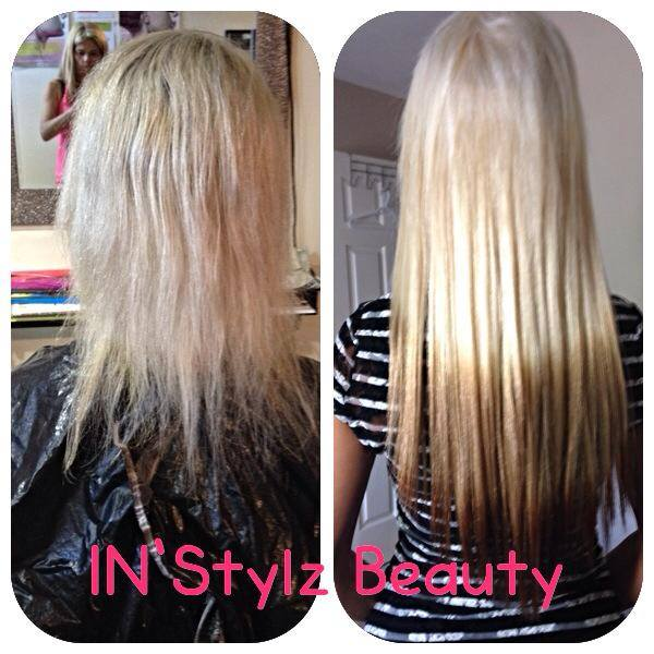 Instylz Beauty Reverse Ombre Extensions